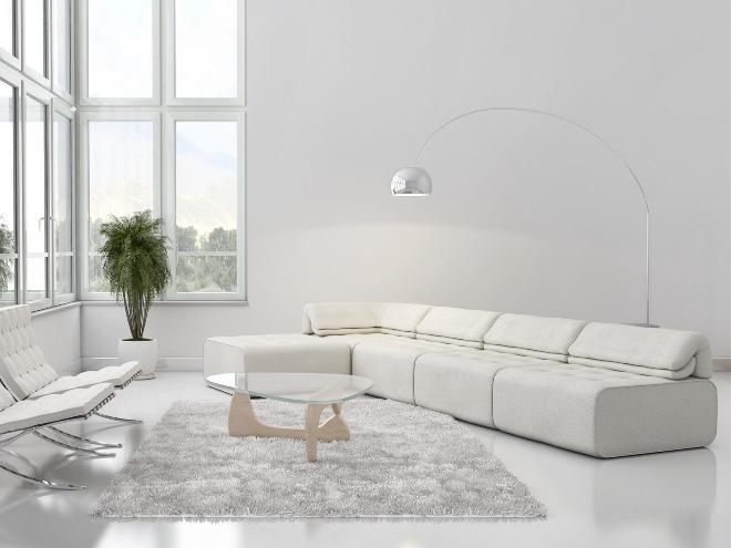 Стили интерьера с белыми обоями