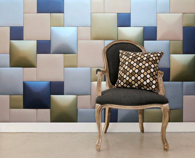 Мягкие стеновые панели из текстиля