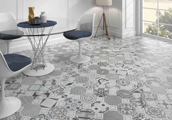 Тенденции в дизайне напольной плитки