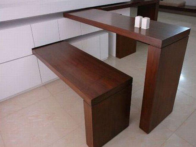 Традиционный откидной стол