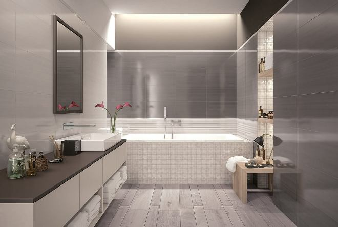 Варианты освещения ванной комнаты