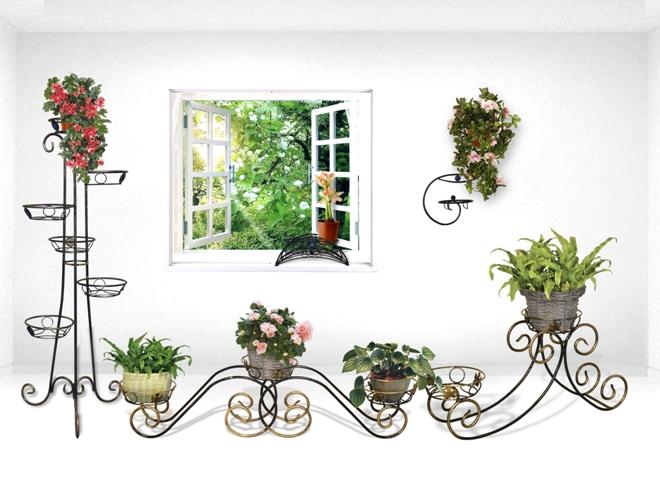 Виды цветочных подставок