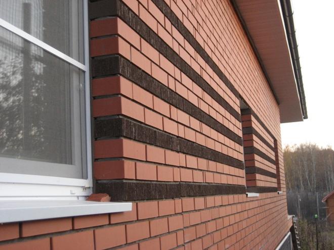 Виды кирпича для облицовки фасада