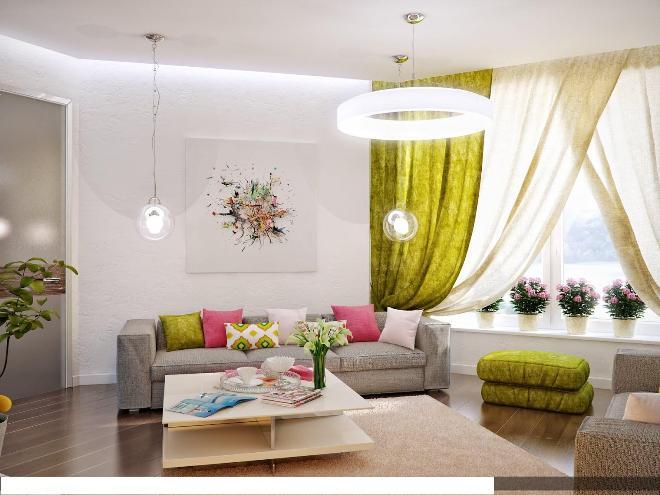 Выбор цветов для интерьера квартиры по фэн-шуй