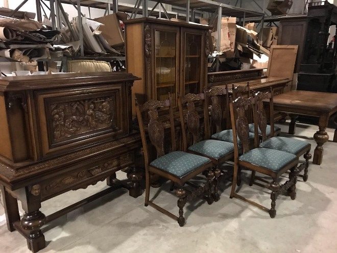 Выбор мебели в охотничьей стилистике