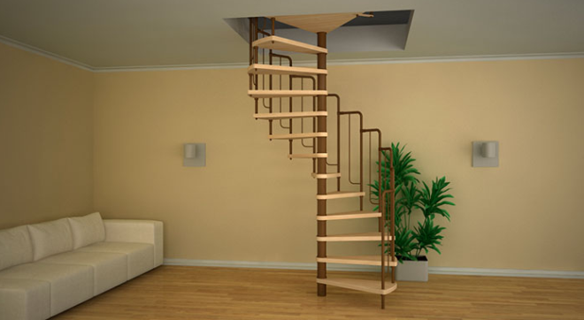 Дизайн лестниц