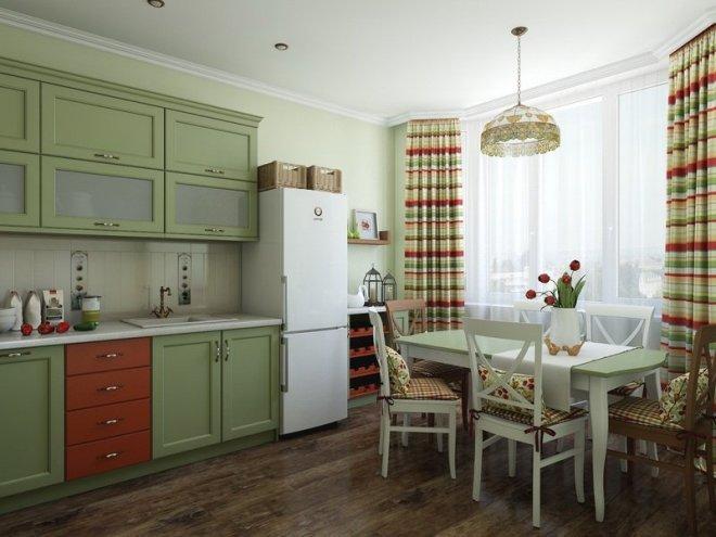 Как правильно использовать оливковый цвет в интерьере