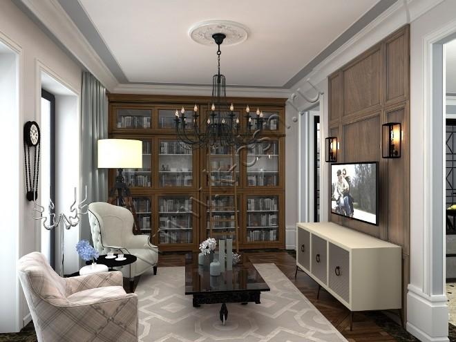 Неоклассический стиль в интерьере: выбираем и расставляем мебель