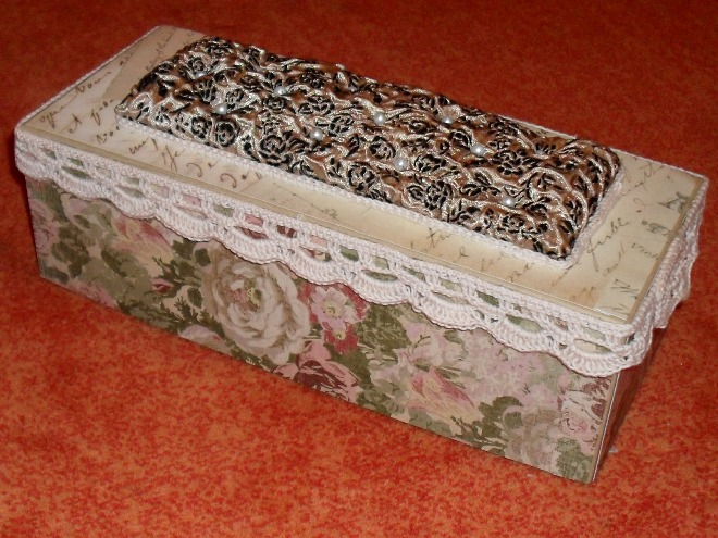 Декоративная коробочка своими руками