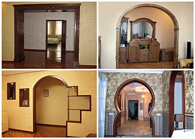 Дизайн и формы дверных проемов