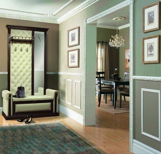Дизайн и оформление потолочного плинтуса в интерьере