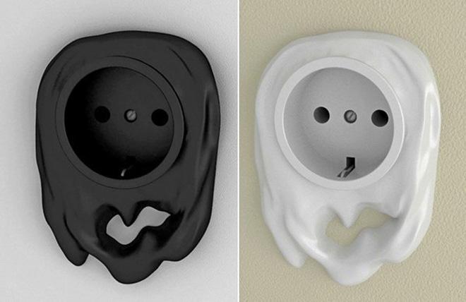 Дизайнерские розетки и выключатели оригинальной формы