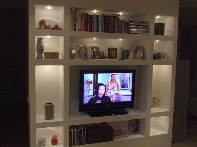 Гипсокартонная конструкция для ТВ