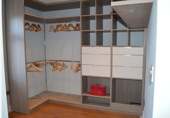 Наполнение углового шкафа