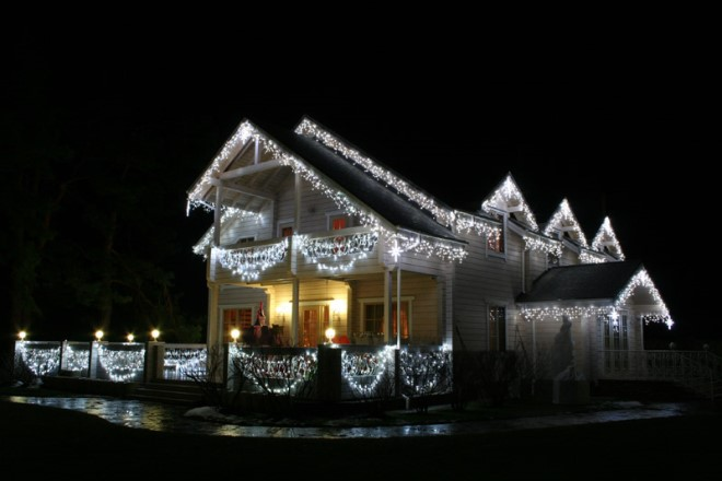 Оригинальные идеи декора фасада дома