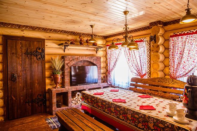 Отделка квартиры в русском стиле