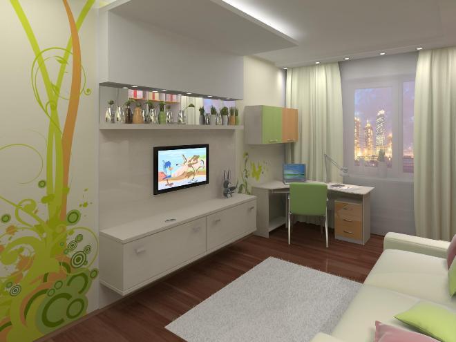 Телевизор в детской