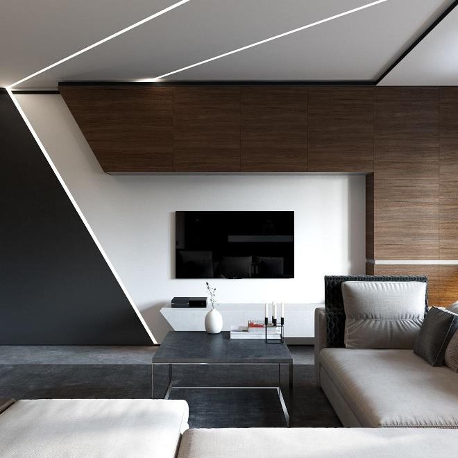 Телевизор в интерьере квартиры