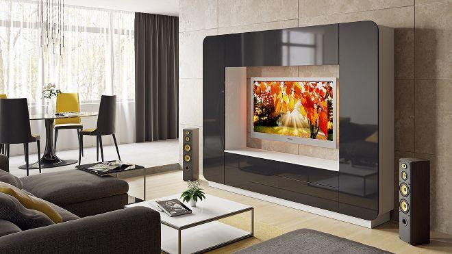 Телевизор в мебели