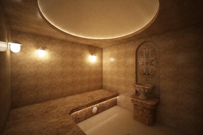 Турецкая баня в частном доме