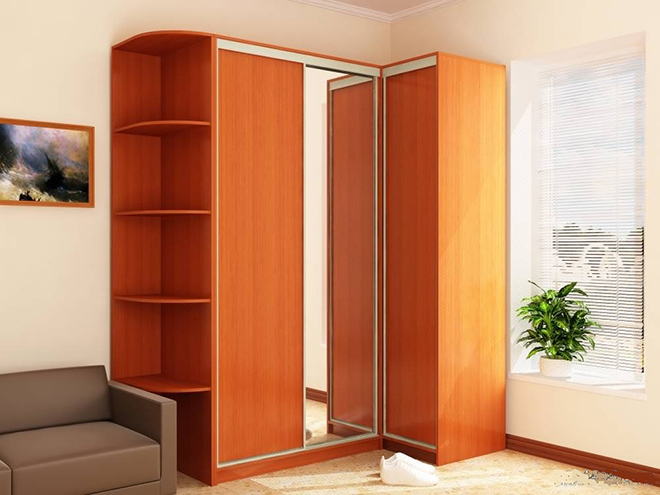 Виды угловых шкафов