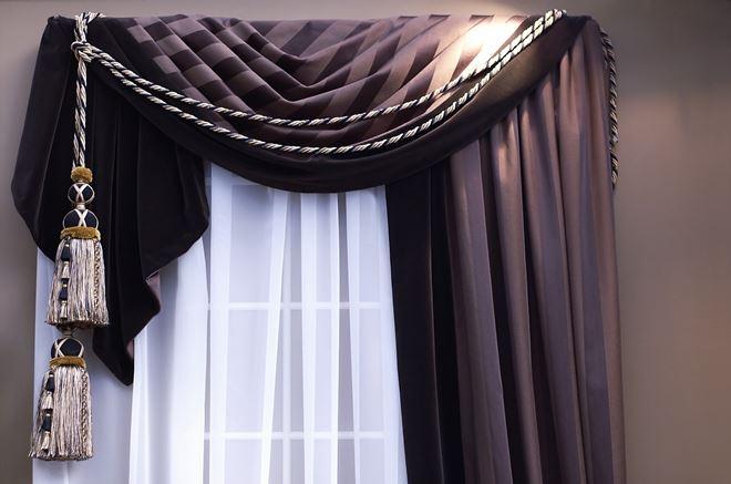 Материалы для штор на одну сторону