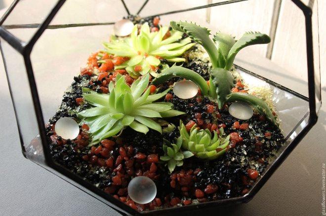 Напольные флорариумы