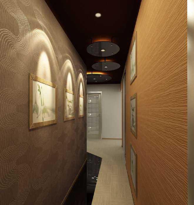 Как правильно подобрать цвет коридора