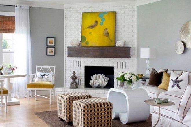 Серый и белый: расширение границ комнаты