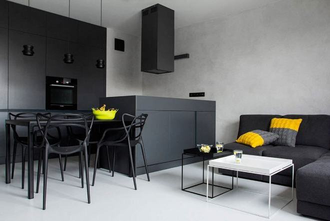 Серый и черный: правильно сочетаем оттенки