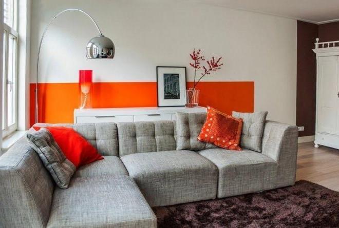 Серый и оранжевый: поднимаем настроение