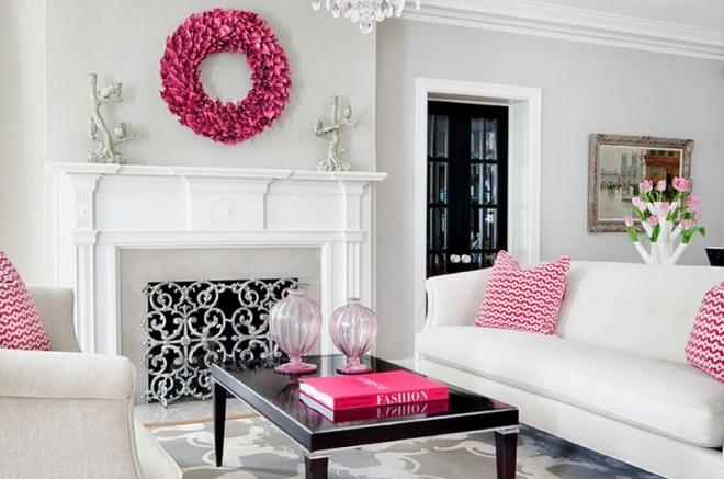 Серый и розовый: нейтральная воздушность