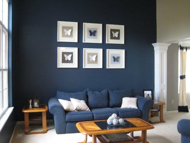 Серый и синий: холодная строгость