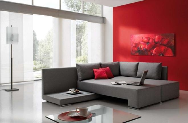 Сочетание серого цвета с другими цветами в интерьере