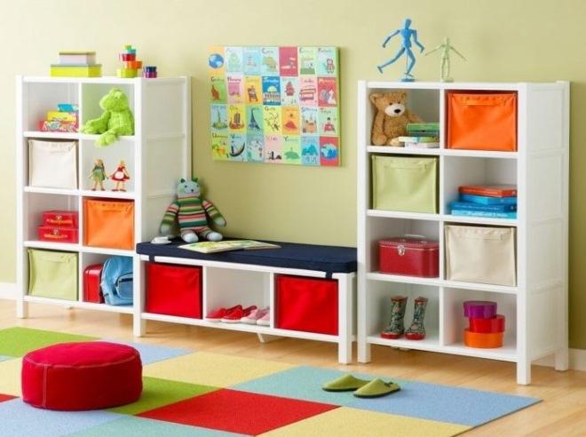 Как выбрать стеллаж для игрушек