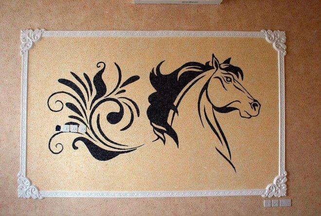 Трафаретная роспись