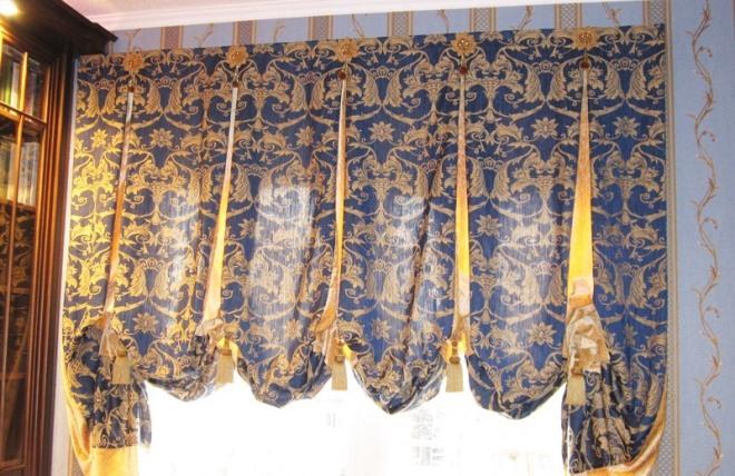 Английские шторы