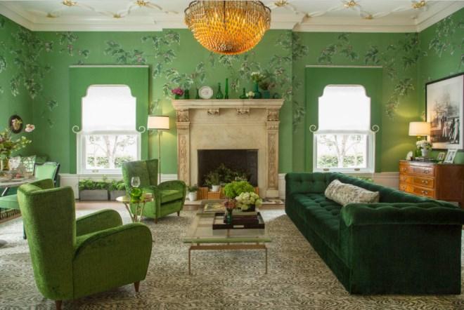 Благородный зеленый