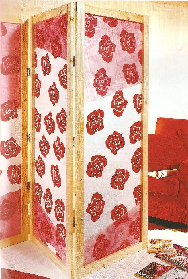 Популярные материалы для ширмы