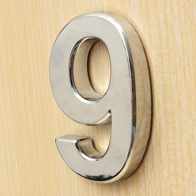 Самоклеящиеся номерки на дверь