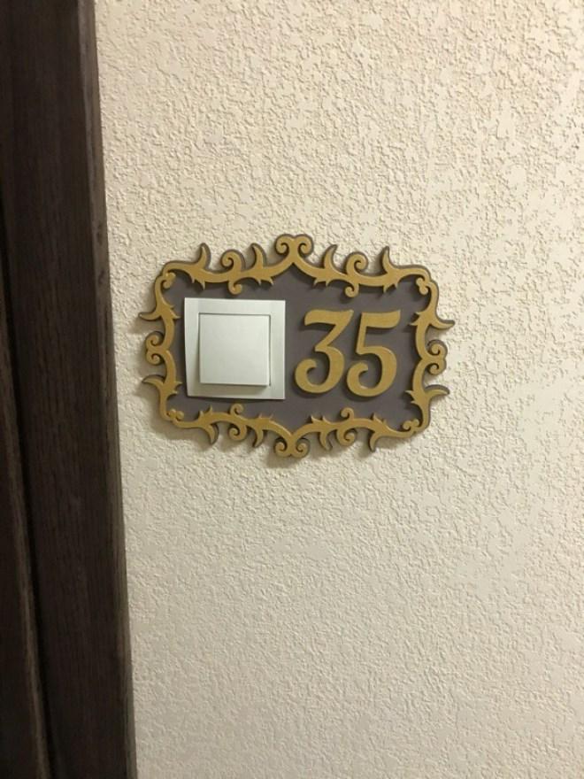 таблички для квартиры фото появится его фото