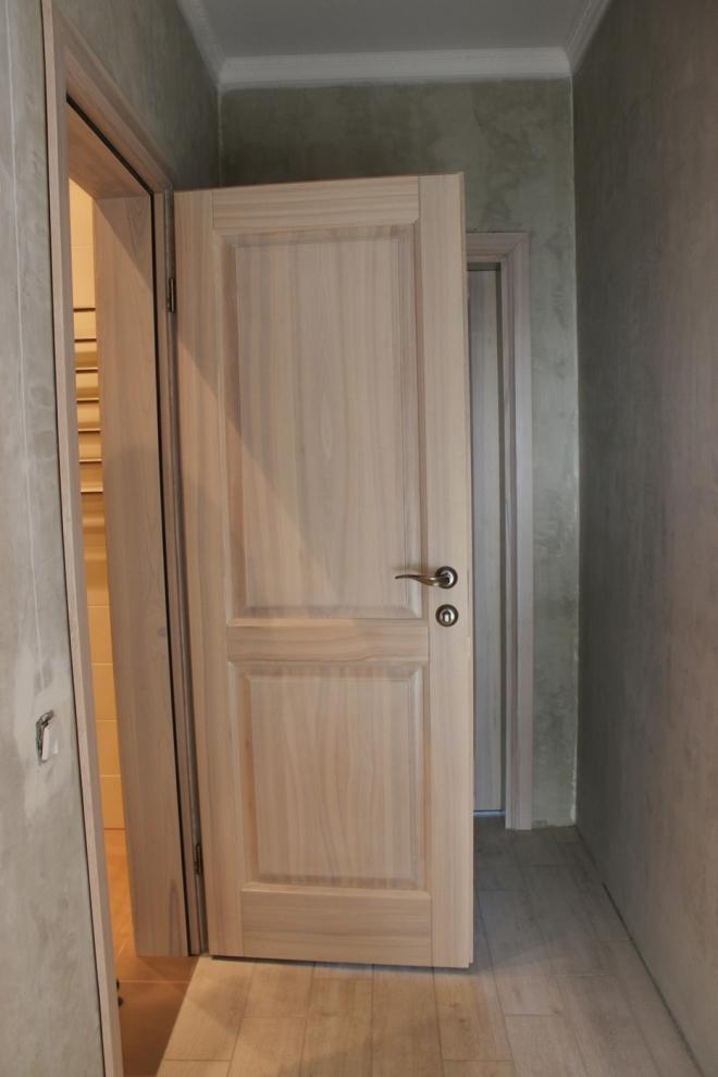 Как сочетать пол и двери цвета ясеня в квартире