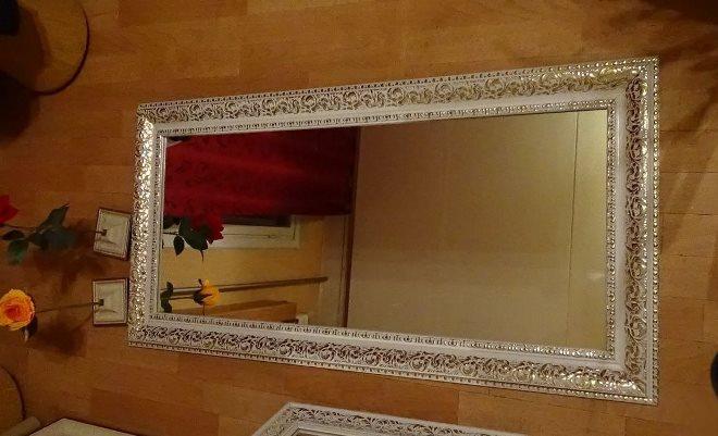 Рамка из потолочного или напольного плинтуса