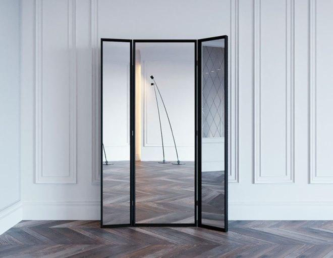 Стеклянные и с зеркалом