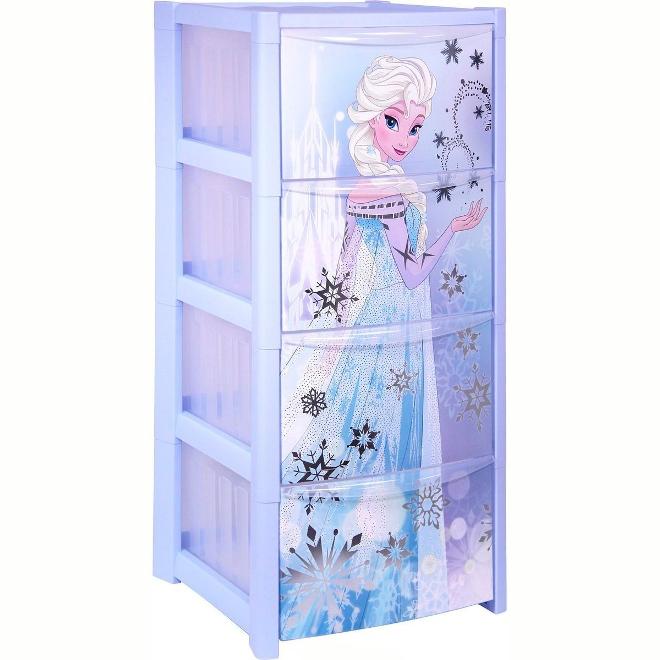 Пластиковый шкаф для игрушек