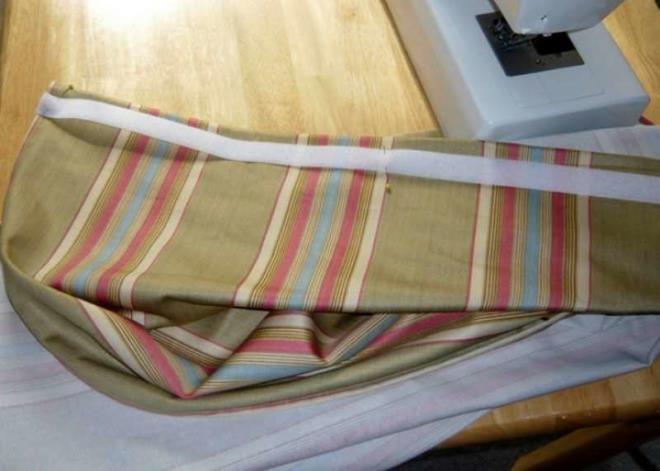 Как сшить шторы на липучке своими руками