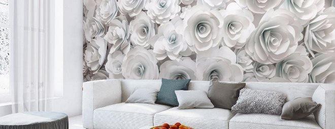 Обои с розами