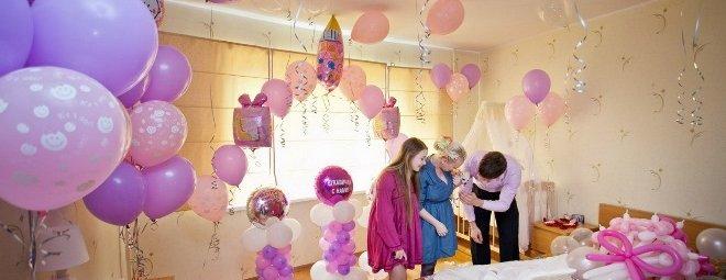 Как украсить комнату на день рождения своему ребенку
