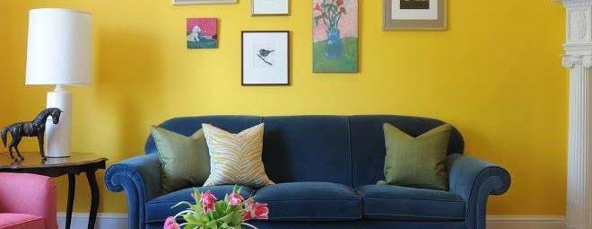 Правильное сочетание цветов в интерьере гостиной: полезные советы