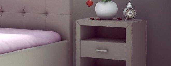 Прикроватные тумбы для спальни: есть ли в них необходимость